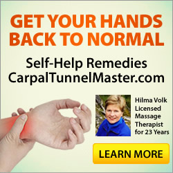Click Here for More Info On Relieving Carpal Tunnel